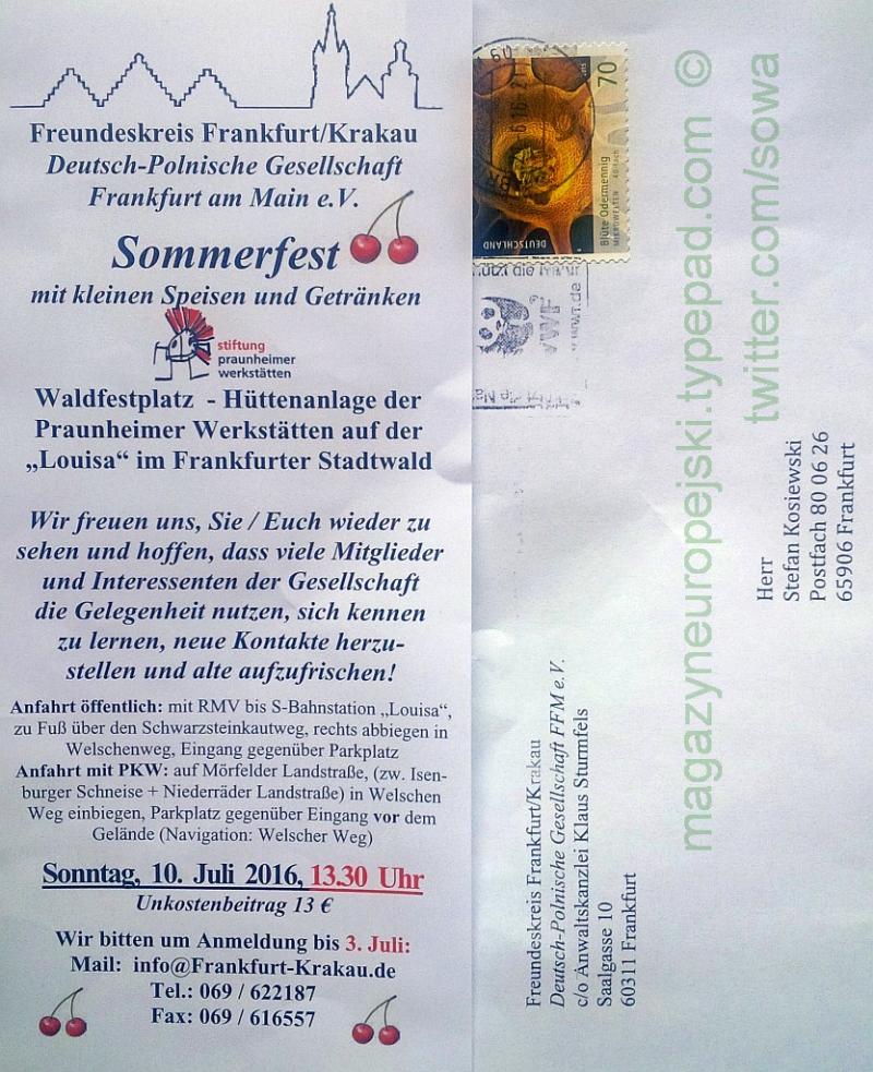 Sommerfest 10 juli 2016 sowa